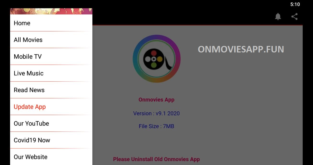 onmovies app for pc