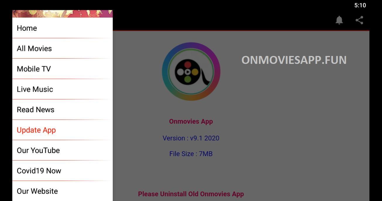 onmovies app for pc